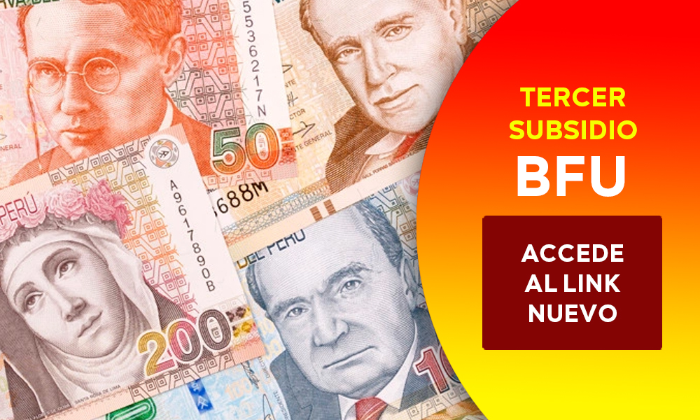tercer subsidio bfu