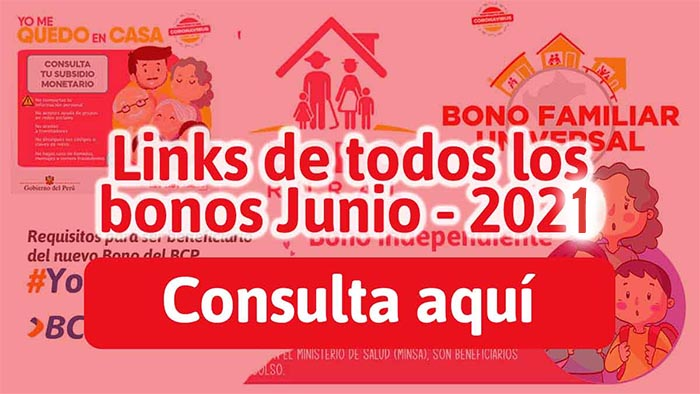 link bonos 2021