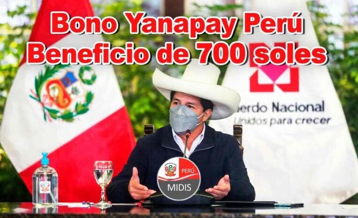 bono yanapay 700 soles