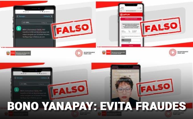 yanapay evitar fraudes